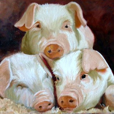 Oil Paintings of Animals